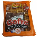 Gofre con chocolate. Punto gofre 140 gr. con chocolate