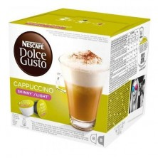Cappuccino light Dolce Gusto, 8+8 uds