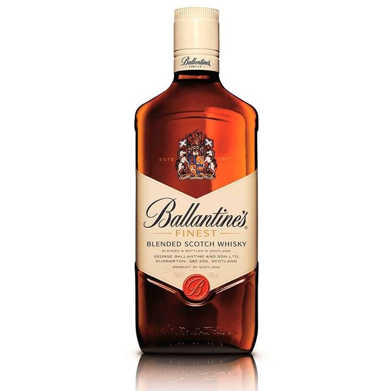 Ballantine's whisky escocés, botella 70cl