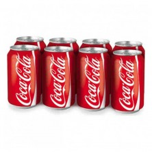 Coca-Cola lata, pack 8x33cl