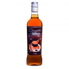 Carajillo de Brandy Premium 3 colores, botella de 70cl