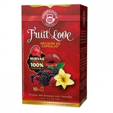 Digestive Plus Cápsulas Pompadour, compatibles Nespresso®