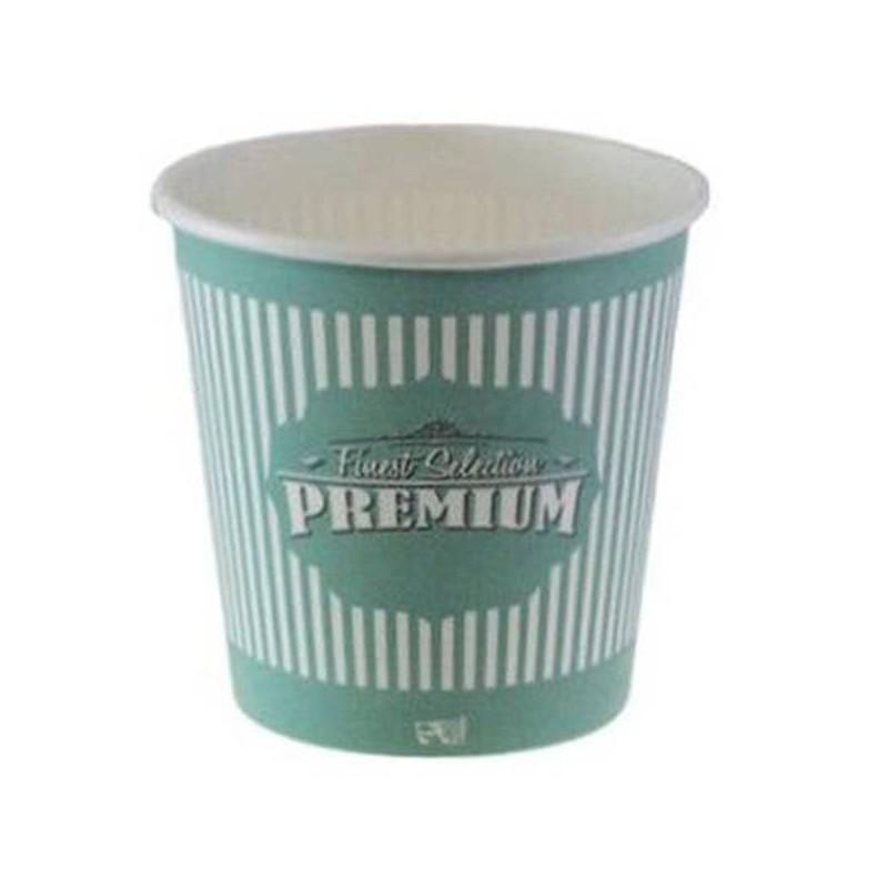 Vasos Premium cartón 4oz  tamaño espresso, 100 uds