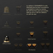 Double Forza L'or 10 cápsulas compatible L'or Barista