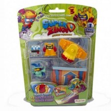 BLISTER SLIDER, SUPER ZINGS SERIE 3, RIVALS OF KABOOM,