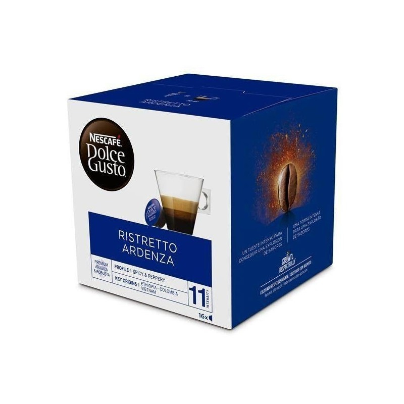 Cafe Ristretto Ardenza, Nescafe Dolce Gusto, 16 uds
