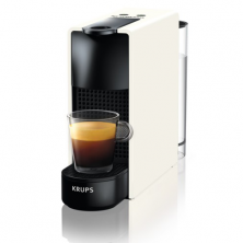 Nespresso Krups Essenza mini piano pure white