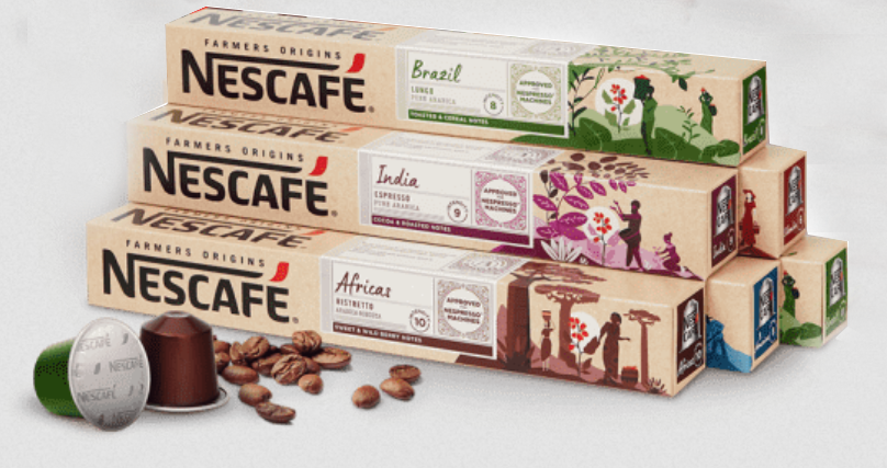 nescafé farmers origins para nespresso